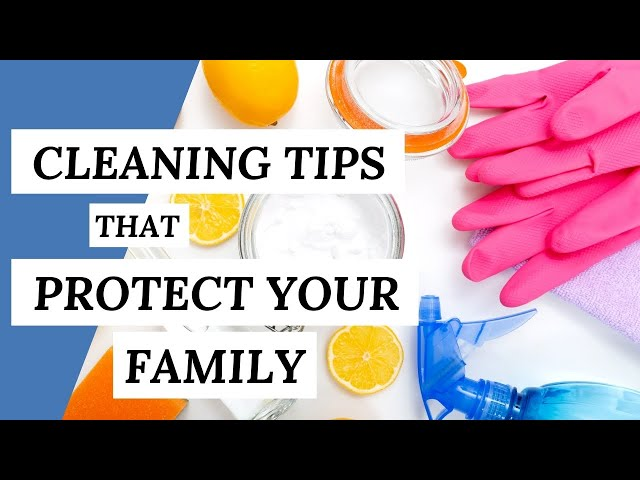 Eco-Friendly Tips That PROTECT YOUR FAMILY (Cleaning Tips)