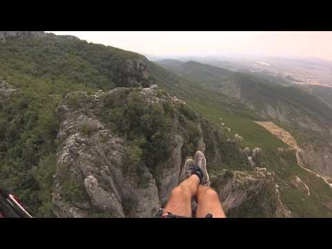 60 seconds of cliff soaring in Dajt mount.  2014