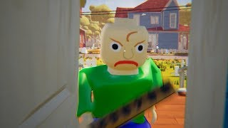 MY NEW NEIGHBOR LEGO BALDI - Hello Neighbor ACT 3