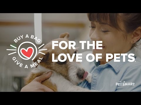 PetSmart Introduces Buy A Bag, Give A Meal - Full length (US)