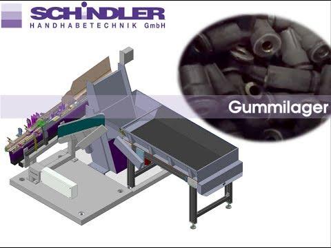 Zuführeinrichtung Für Gummilager