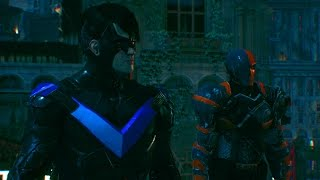 Batman Arkham Knight: Deathstroke Nightwing Dual Play Mod!