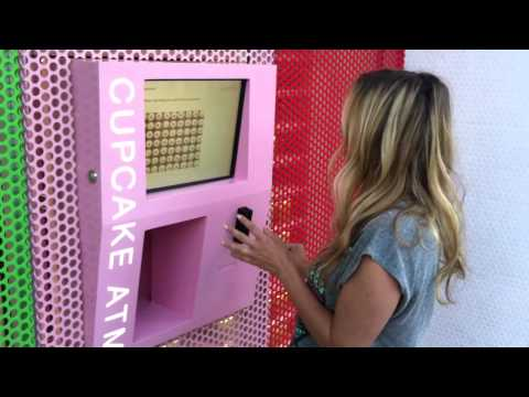 Risa discovers the Sprinkles Cupcake ATM