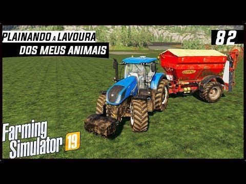 PLAINANDO TODA A LAVOURA DOS ANIMAIS! | FARMING SIMULATOR 19 #82 [PT-BR]