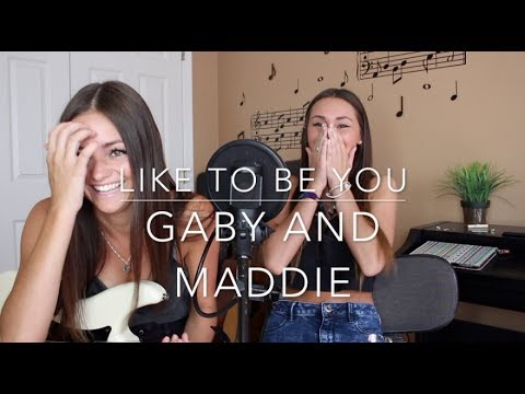 Like To Be You - Shawn Mendes ft. Julia Michaels (Gaby and Maddie Cover)