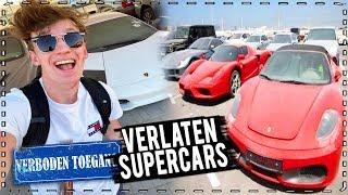 ik vond VERLATEN SUPERCARS in DUBAI! (Lamborghini, Ferrari, Porsche)