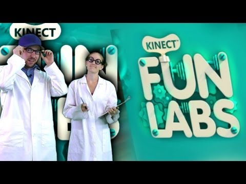 Kinect Fun Labs is AWESOME!