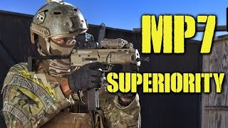 Desertfox Airsoft: Mp7 Superiority (elite Force/umarex Mp7 At Fort Ord)