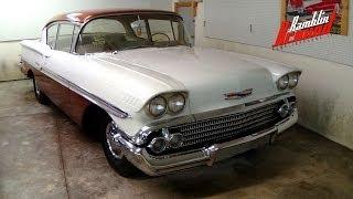 1958 Chevrolet Biscayne 235 Inline Six 3 Spd Manual