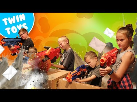 Nerf War:  Mail Time Mayhem 20