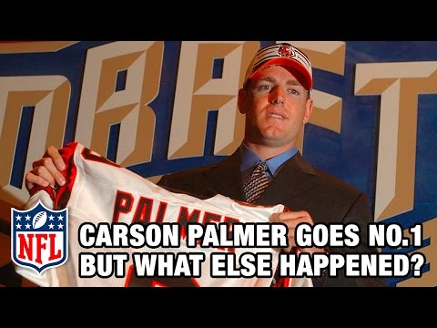 Carson Palmer 1st & Beyonce makes top hit! | 2003 NFL Draft Rewind | Good Morning Football