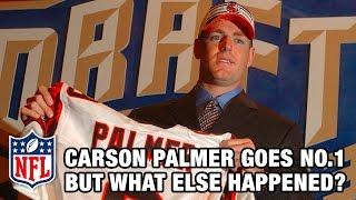 Carson Palmer 1st & Beyonce makes top hit!   2003 NFL Draft Rewind   Good Morning Football