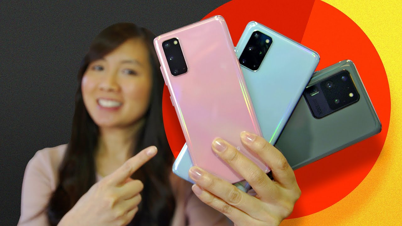 Hands-on with ALL 3 phones: Galaxy S20, S20 Plus and S20 Ultra
