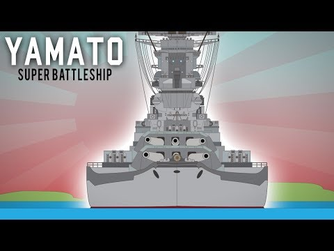 The Yamato - Largest battleship in History  (Behemoth)