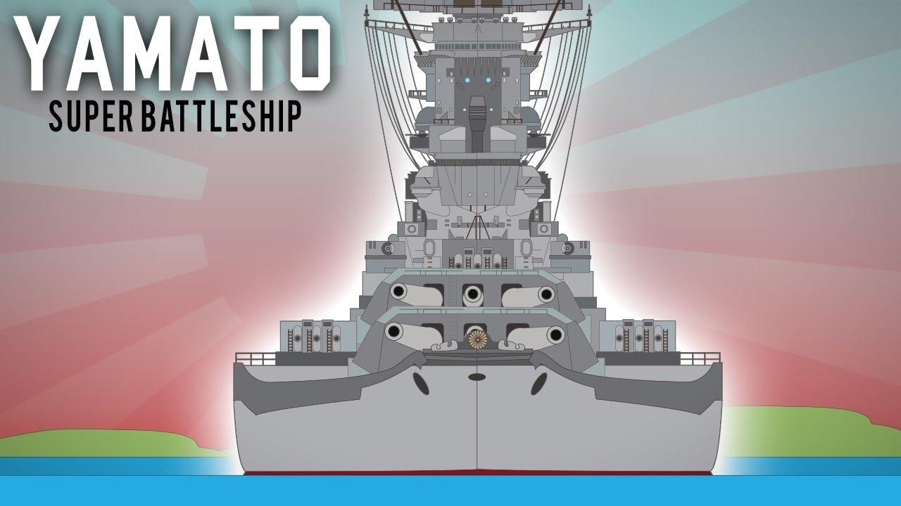 749129944 The Yamato - Largest battleship in History (Behemoth) - YouTube