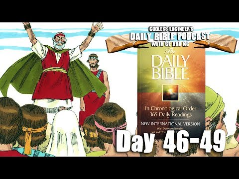 Crazy Ceremonial And Religious Laws of the Old Testament || GE's Daily Bible Podcast, Days 46-49