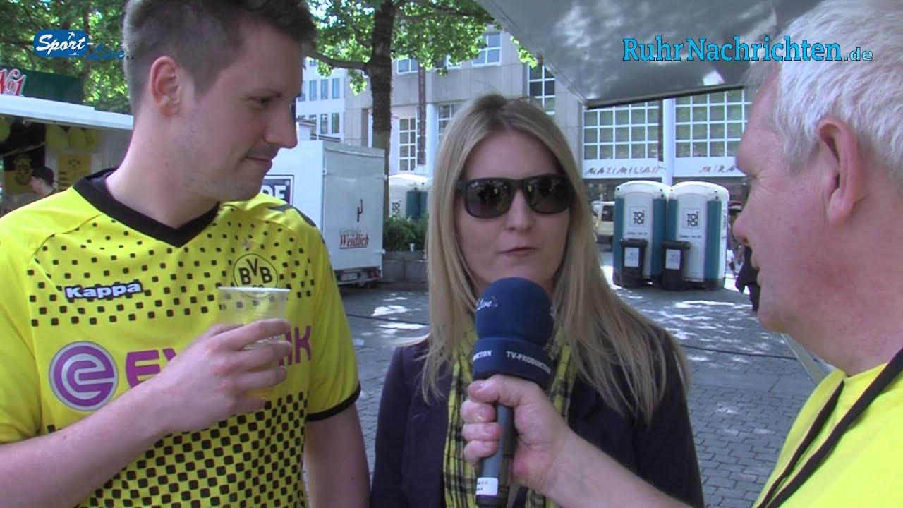 Eindrücke vom Public Viewing am Dortmunder Hansaplatz