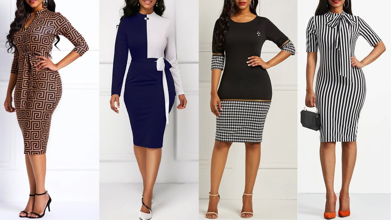 Top 10 New Office Dresses 2019 By