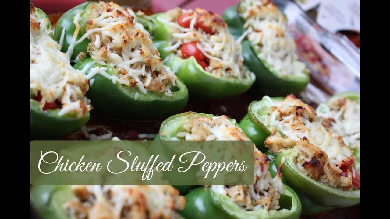 What To Make Chicken Stuffed Peppers