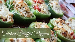 What To Make: Chicken Stuffed Peppers