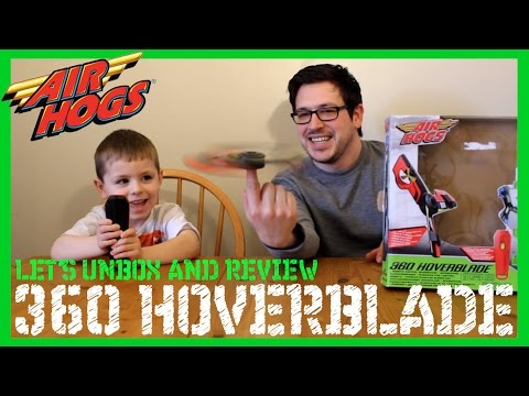 Air Hogs 360 Hoverblade | Unboxing And Review