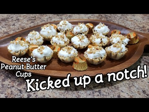 Reese's Peanut Butter Cups Kicked Up A Notch - So Easy - So Fancy!