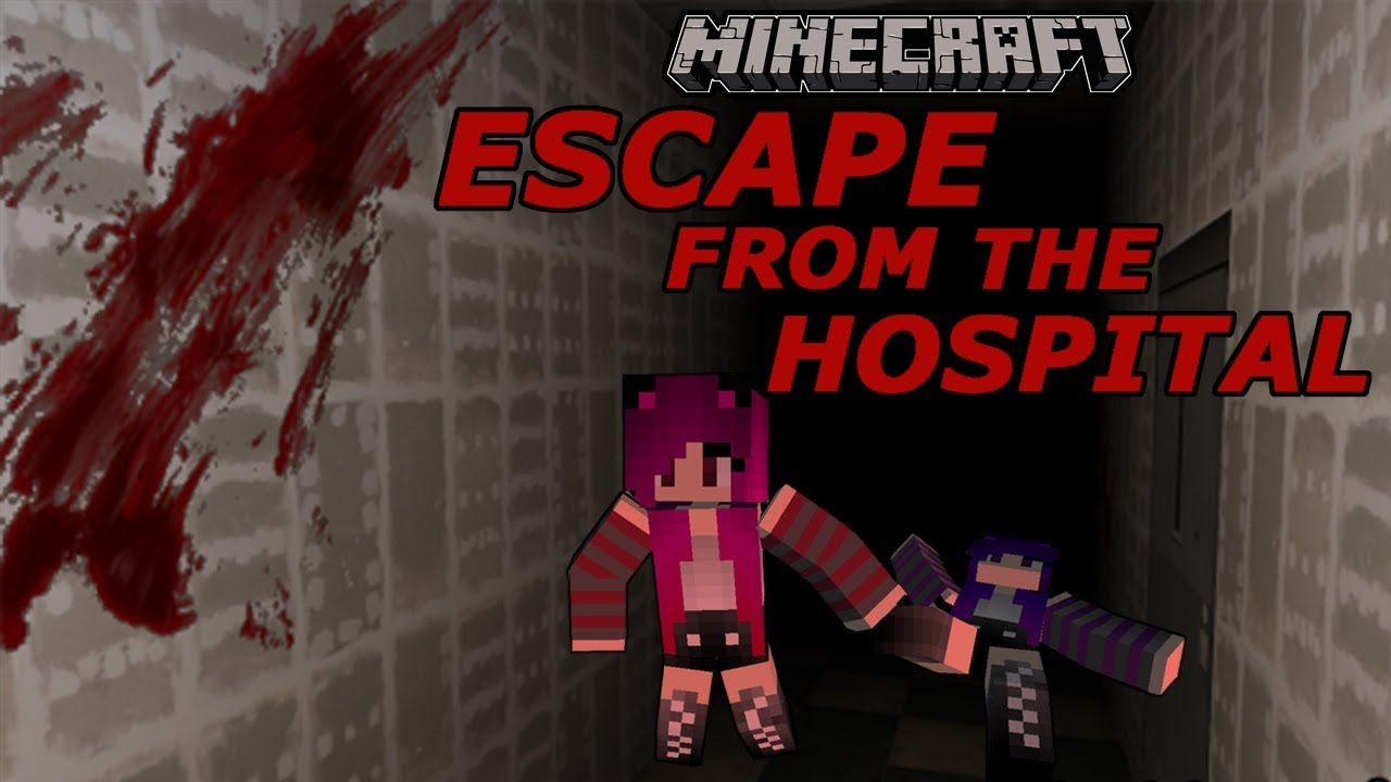 Minecraft Escape From The Hospital Horror Map Custom Map