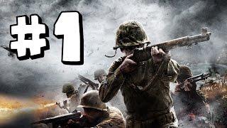 Call of Duty World At War Wii Walkthrough Part 1