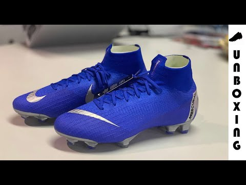 bb2ecc92a Nike Mercurial Superfly 6 Elite FG Always Forward - Racer Blue Metallic  Silver