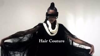 Hair couture by Murielle Kabile