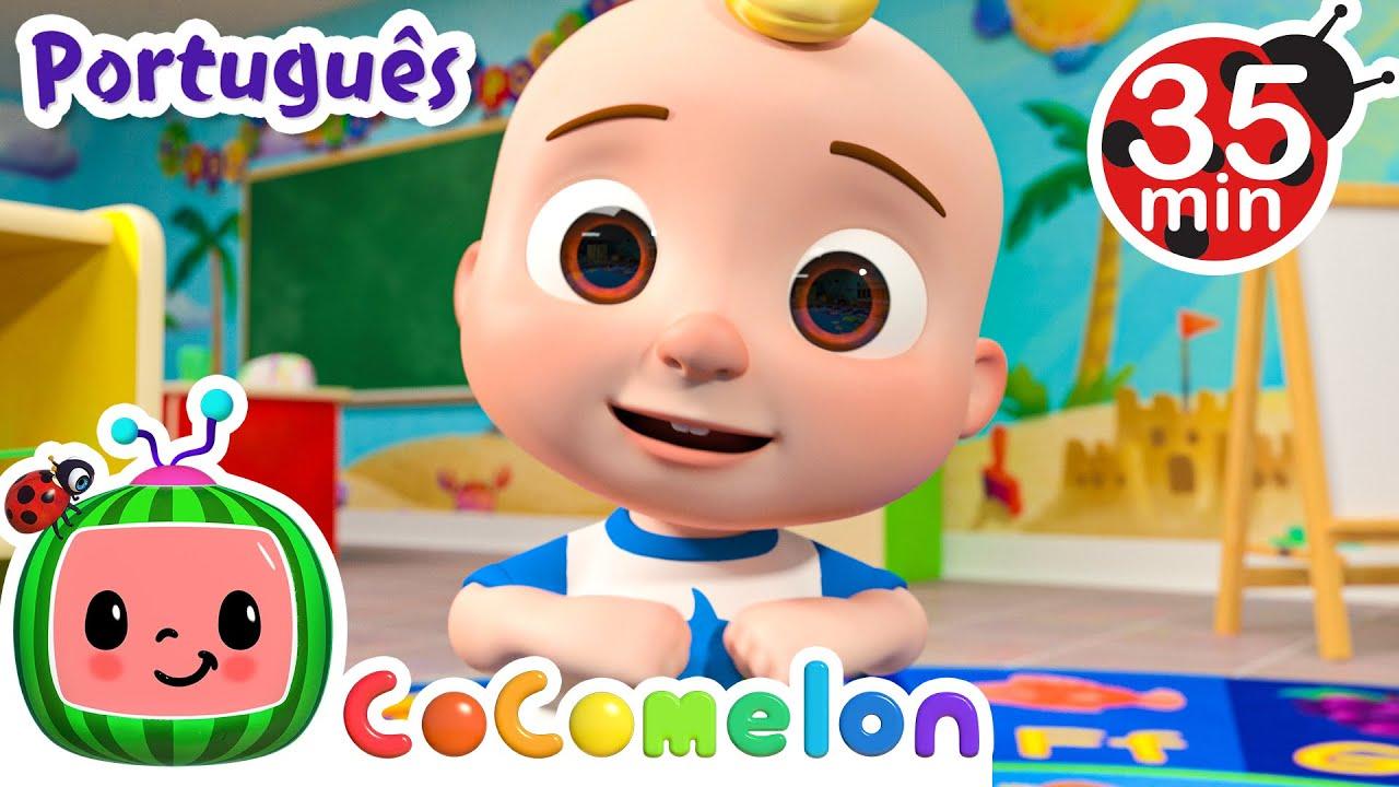 CoComelon em Português   A canção do meu corpo   Compilação de Desenhos Animados