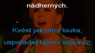 SLADKÉ MÁMENÍ Helena Vondráčková karaoke c beranek robinson 2017