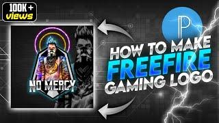 how to make free fire Gaming logo in pixellab || free fire mascot logo in pixellab ?