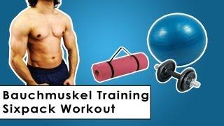 Effektives Bauchmuskeltraining - Sixpack Training für zu Hause