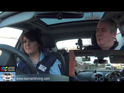 Claire's 12th driving lesson - Amalgamation of lessons 8,9 and 10