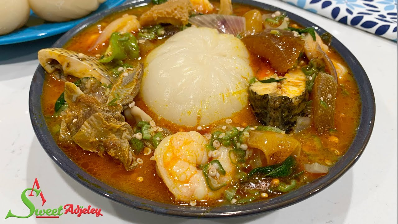 How To Make Slimy Okra/Okro Soup Every Time. Restaurant Style Tilapia Okra Soup With Soft FuFu