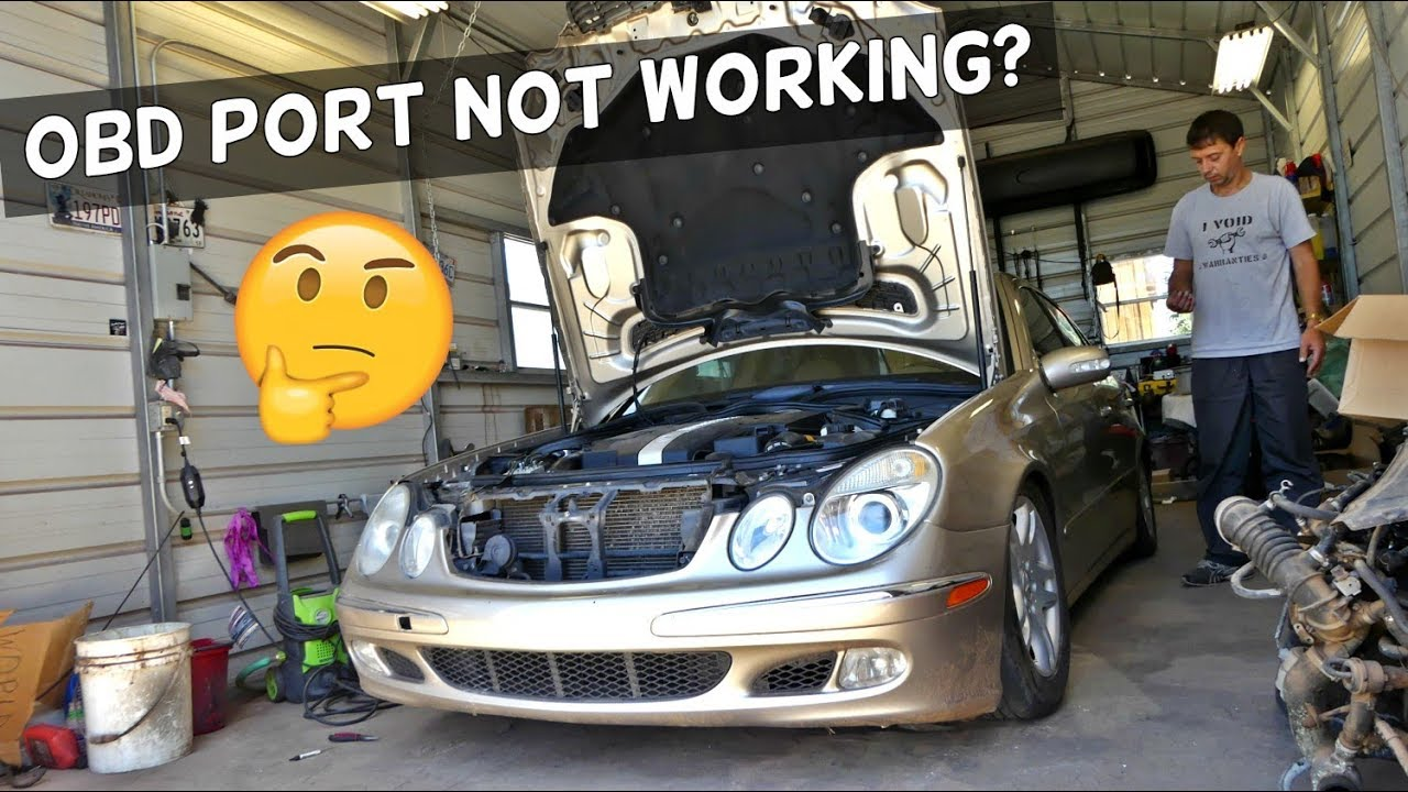 OBD PORT DOES NOT WORK FIX | ANY CAR