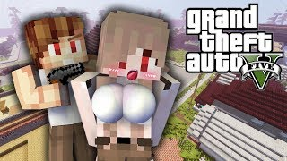 มายคราฟ : แชมป์จับเนยเป็นตัวประกัน...ปล้นทั้งเมือง!! (GTA Roleplay)