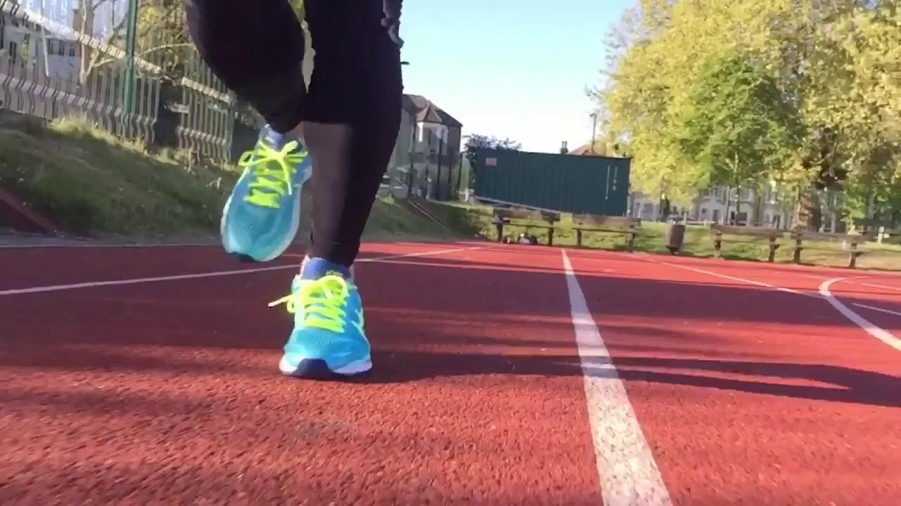 Women's ASICS Gel Kayano 22 (Ice BlueFlash YellowBlue) Track