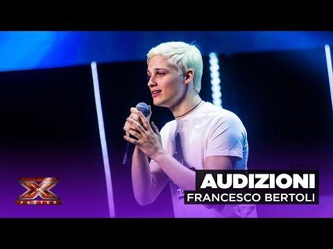 Francesco Bertoli dei Jarvis torna da solista a X Factor   Audizioni 3