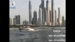 Dubai Yachts Rental with Day & Night Dubai