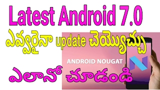#Telugu simple way to update your Android software version it's easy no root 100% working