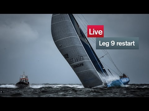 Live recording: Leg 9 re-start - Lorient - Gothenburg