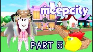 ROBLOX : ปลูกต้นไม้ และทำห้องออกกำลังกาย MeepCity PART 5 (ProGress89)