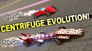 We Evolved Rocket Dragsters in the Centrifuge! - Trailmakers Multiplayer