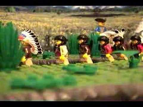 Indian Nation Brickfilm Lego Animation Paul Revere Music Video