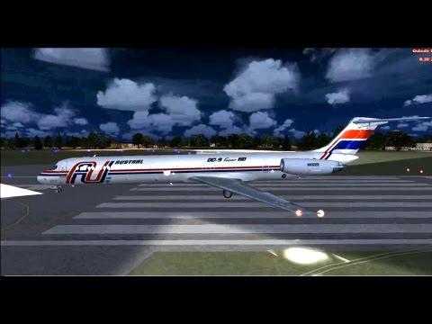 Vuelo 2553 de Austral (Accidente aéreo en Uruguay) Resconstrucción