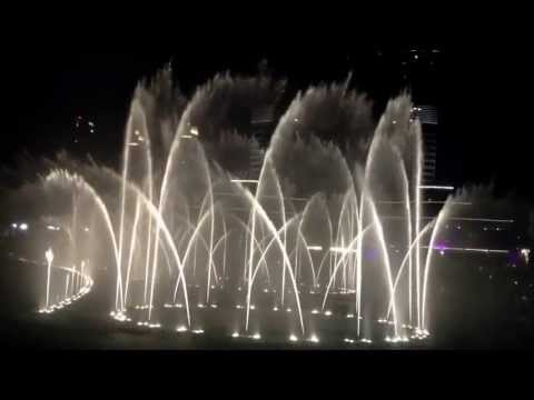 Dubai dancing water