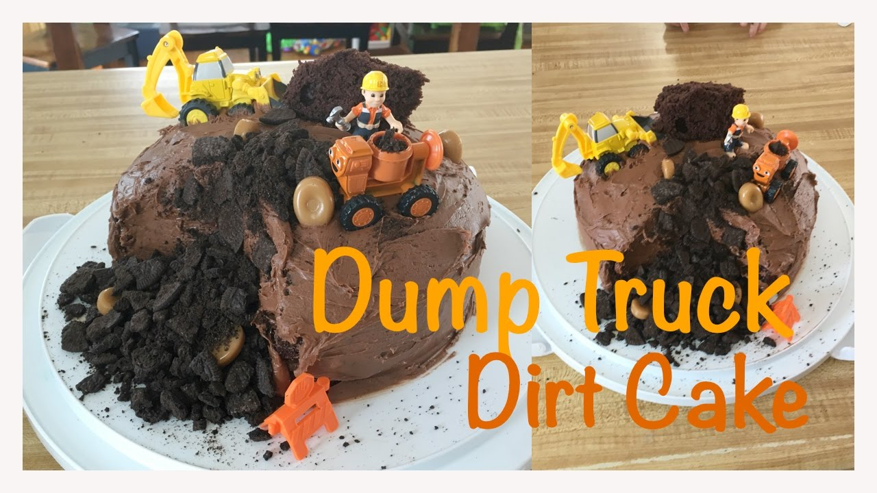 How To Make Dirt Cake In A Dump Truck