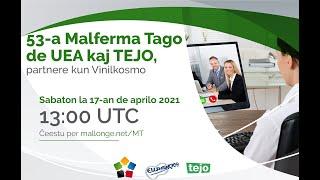Virtuala Malferma Tago de UEA kaj TEJO